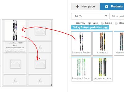 online product catalog builder tour features catalog machine